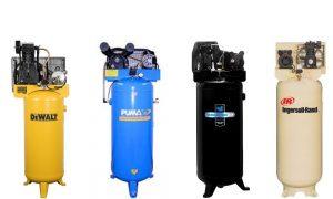 large oil-filled compressor