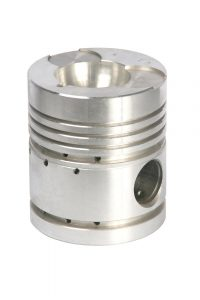 image of an engine piston for comparison to air compressor piston