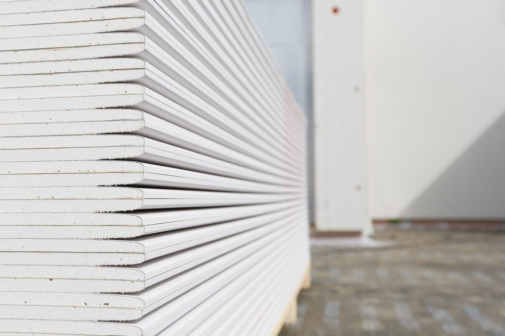 stack of thick sheetrock for purchase